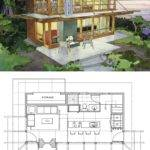 Small Modern Lake House Plans Brucall