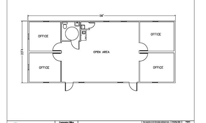 Small Office Building Floor Plans Details