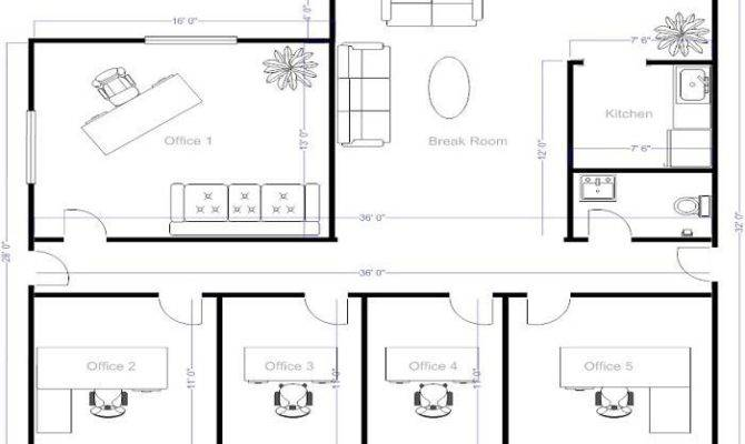 Small Offices Floor Plans Office Layout House Plans 52740