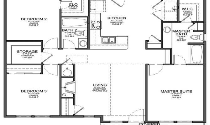 Small One Bedroom Floor Plans Joy Studio Design