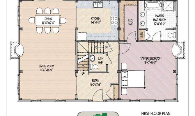 Small Open Floor House Plans Best Cozy Colonial