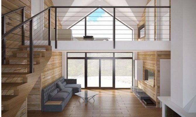 Small Open Floor Plans Loft