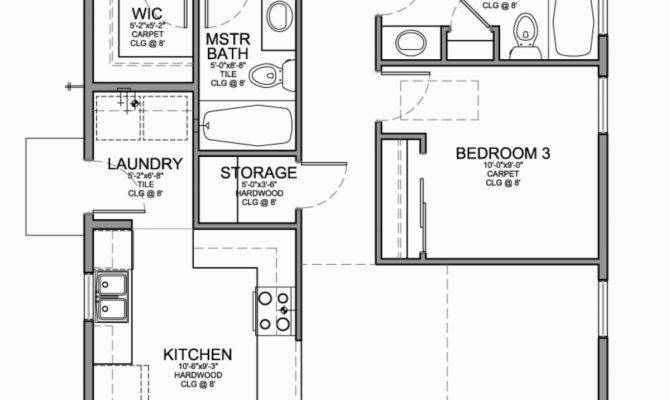 Small Open House Plans Attractive Cabin