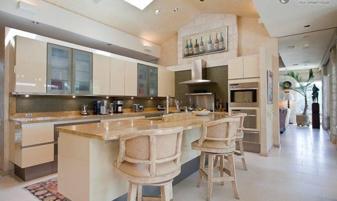 Small Open Kitchen Decoration Modern