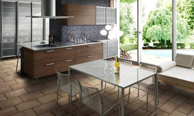 Small Open Kitchens Countertop Chairs Olpos Design
