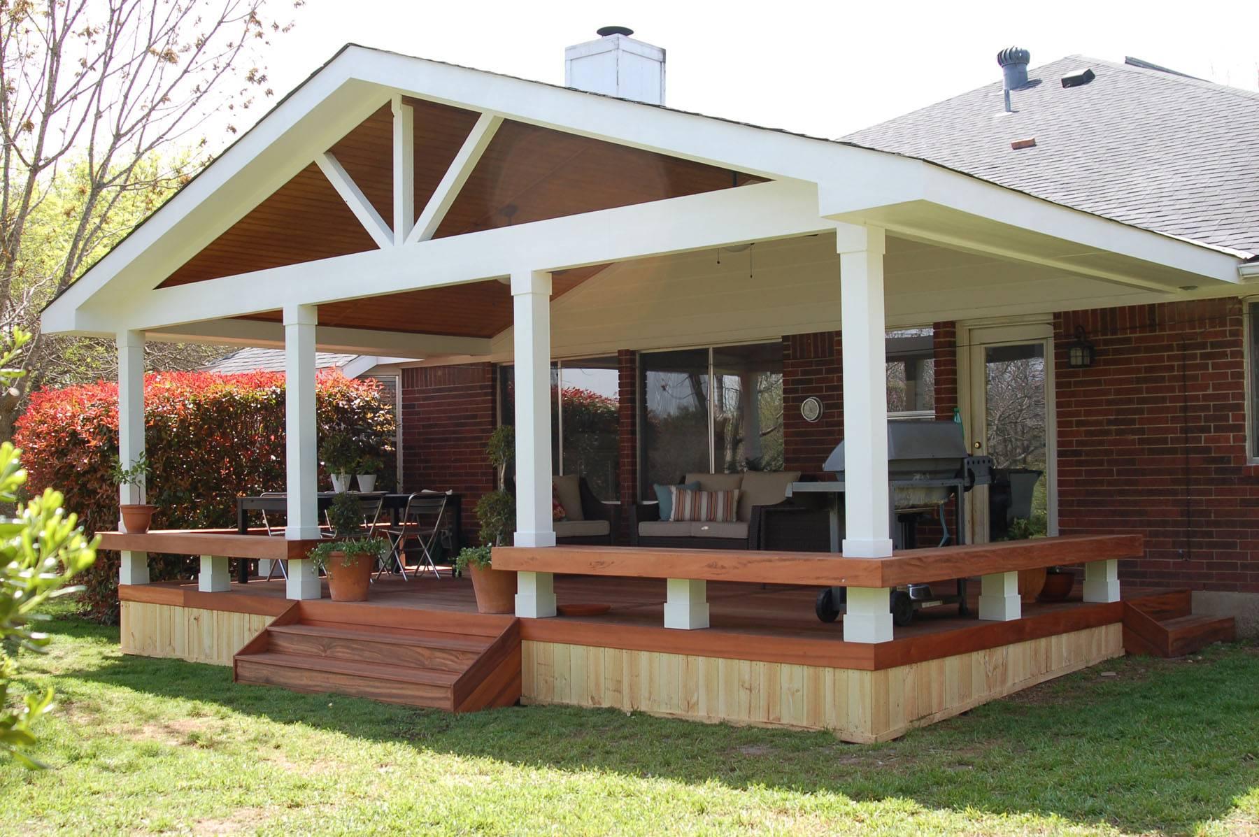Small Patio Decks Deck Covered Porch