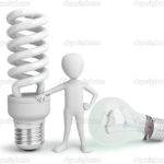 Small Person Normal Saver Lightbulb Damirl