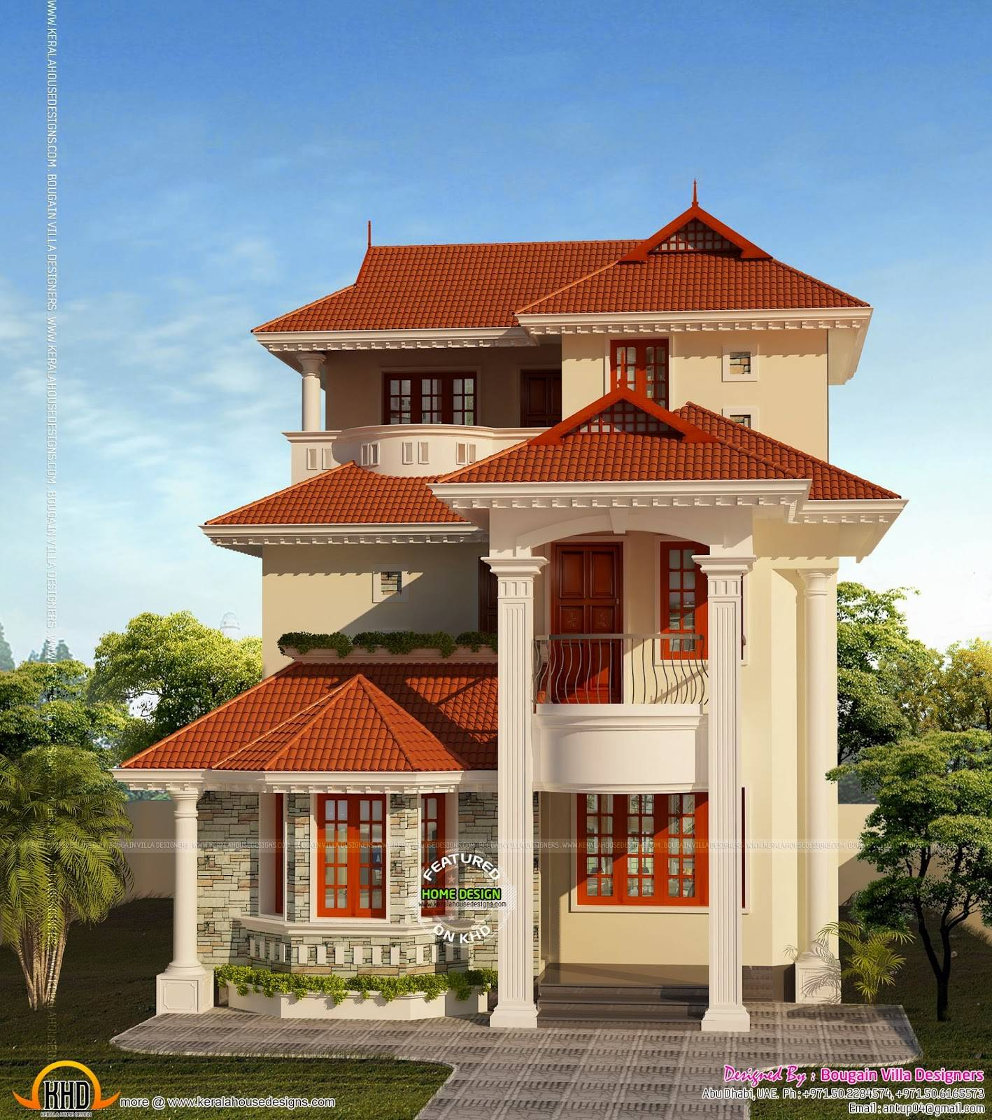 small plot house plan kerala home design floor plans