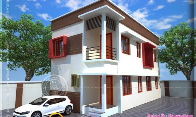 Small Plot Villa Cents Land Interior Design Floor