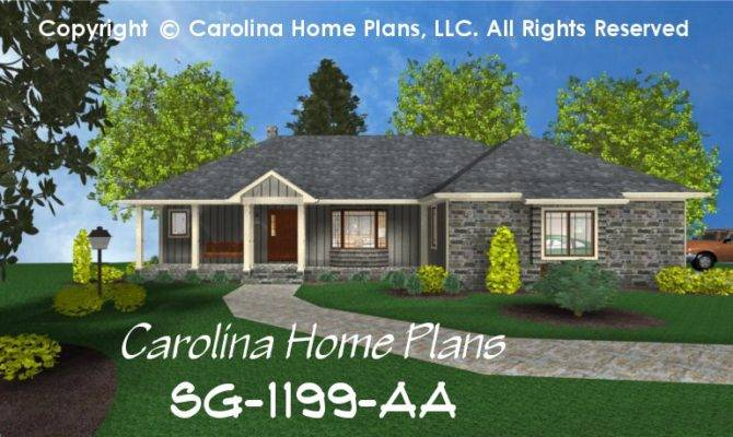 Small Ranch Style House Plan Affordable Home