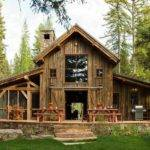 Small Rustic Home Plans Front Source