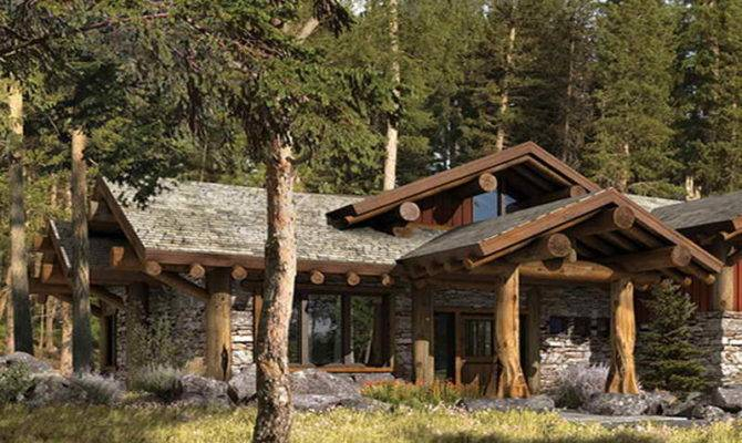 Small Rustic Home Plans Mountain
