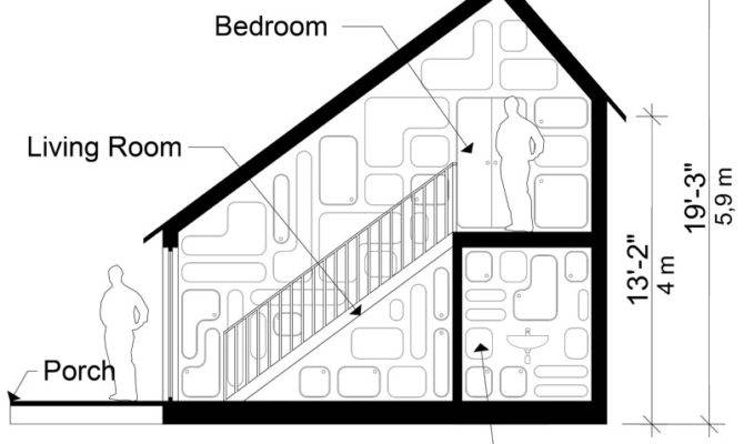Small Saltbox House Plans