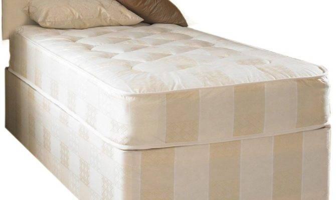 Small Single Bed Mattress Divan Deep Quilt