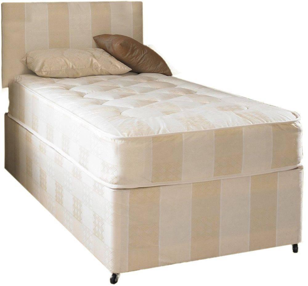 Single Bed Mattress Divan Deep Quilt