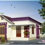 Small Sloping Roof Single Floor Home Kerala Design