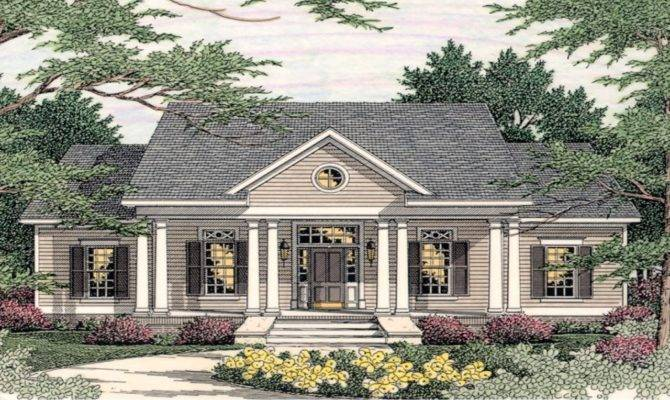 Small Southern Colonial House Plans Georgian Style