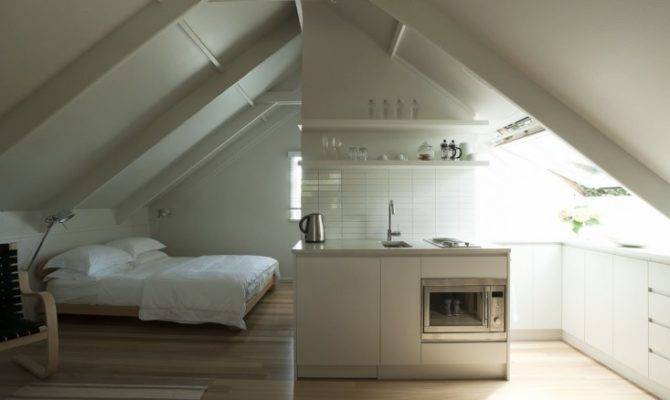 Small Space Living Airy Studio Apartment Garage Remodelista