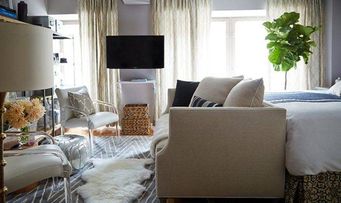 Small Space Makeover Chic Square Foot Apartment Spec