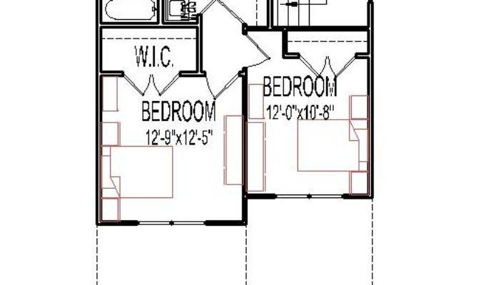Small Story Bedroom House Plans Home Deco