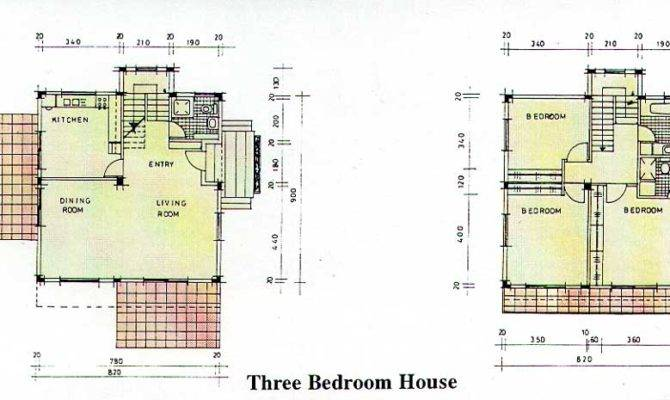Small Three Bedroom House Plans