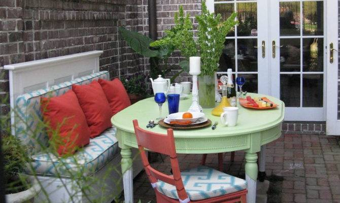 Small Townhouse Patio Decorating Ideas Home Design House Plans