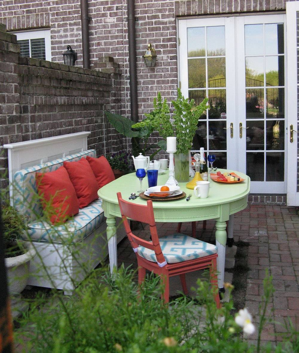 Small Townhouse Patio Decorating Ideas Home Design - House ... on Townhouse Patio Design Ideas id=23750
