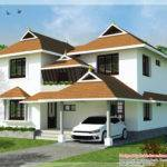 Small Traditional Style Homes Kerala House Design