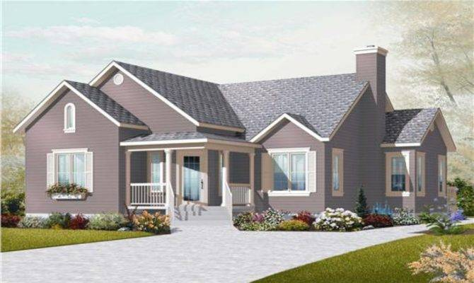 Small Two Bedroom House Plans Country