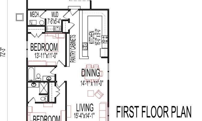 Small Two Bedroom House Plans Low Cost One