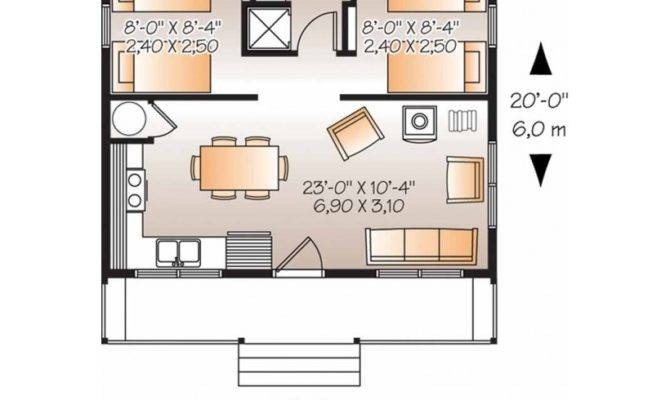 Small Two Bedroom House Plans House Plans 45212