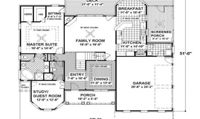 Small Two Story House Plans Modern Floor