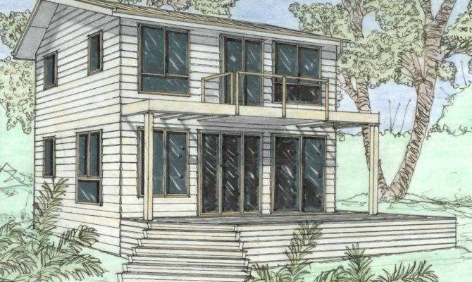 Small Unique Cottage House Plans Design