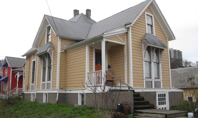 Small Victorian House Portland Oregon Wikimedia