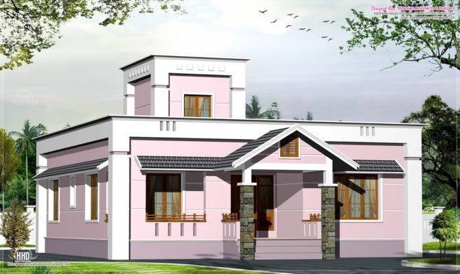 Small Villa Plan Two Bedroom Budget