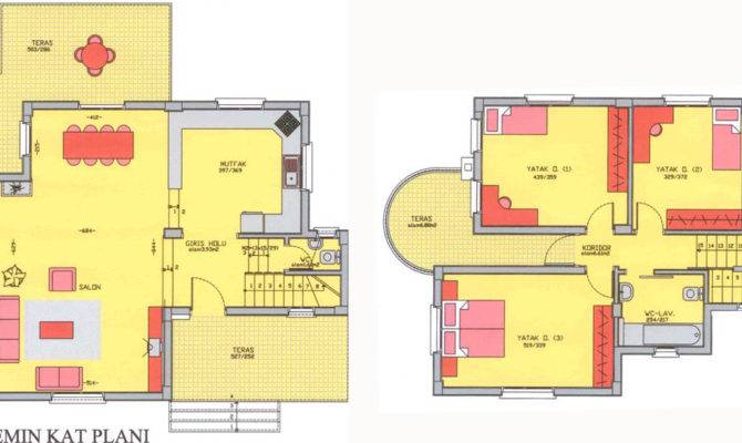 Small Villa Plans Houses Designs