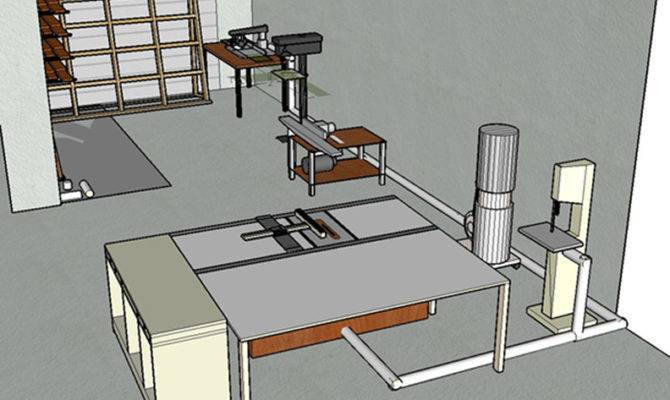 Small Woodworking Shop Layout Plans