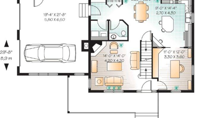 Smart House Plan Large Bonus Space