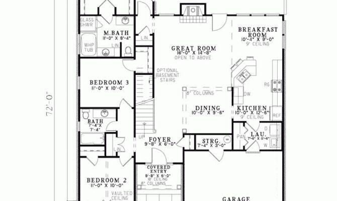 Smart Placement Hacienda Style Floor Plans Ideas