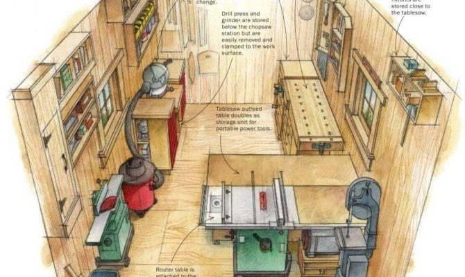 Smart Shop One Car Garage Woodwork City