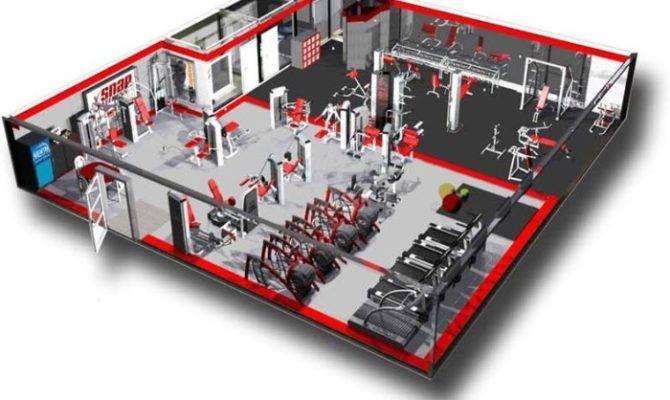 Snap Fitness Floorplan