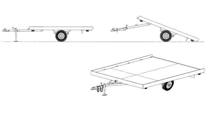 Snowmobile Cart Plans Best