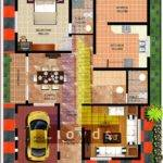 Soft Minds Floor Plan Elevation Feet Villa