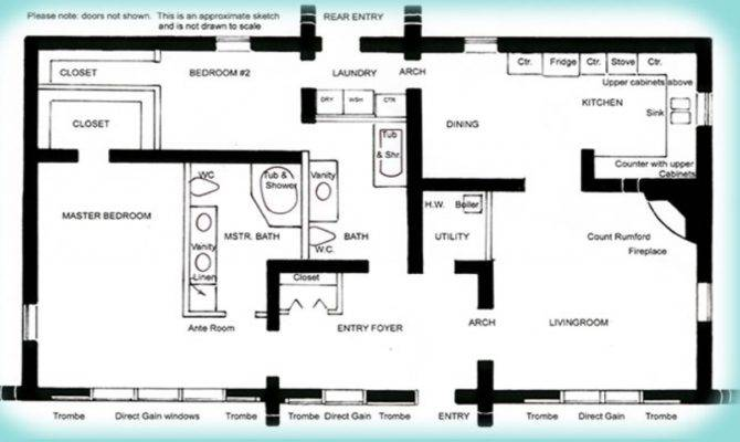 Solar Adobe House Plan Affordable Solaradobe