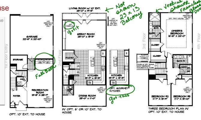 Solita Finalized Townhouse Floor Plan