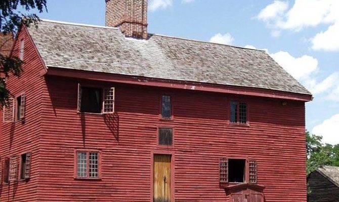 Somewhere American Colonial Pre Architecture Hstarc