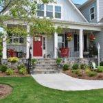 Sophia Farmhouse Style Front Porch Pops Red