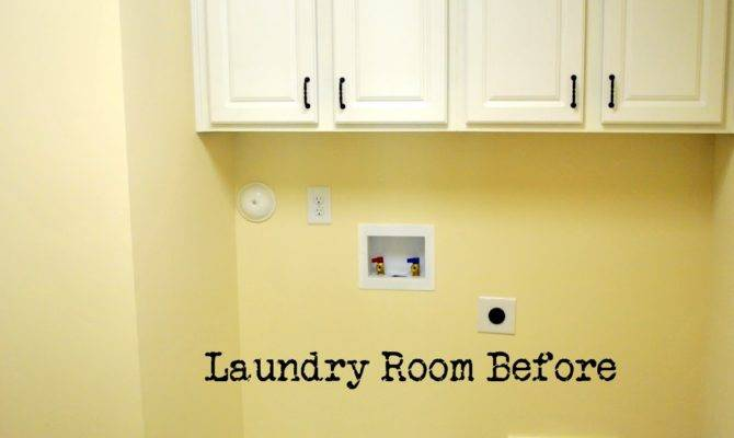 Sophia Laundry Room Reveal