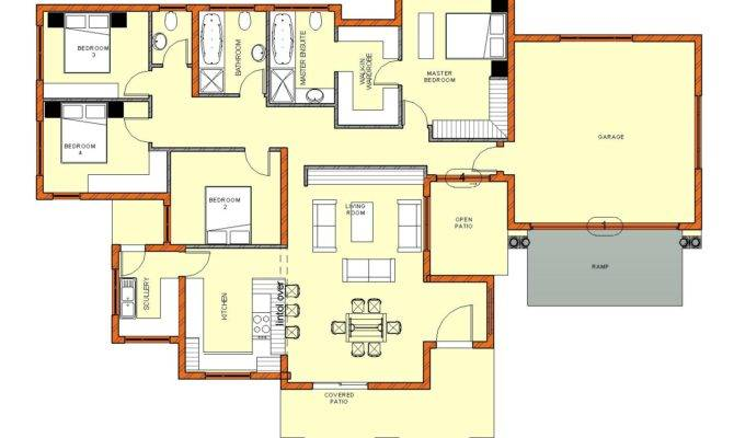 South African Bedroom House Plans Style