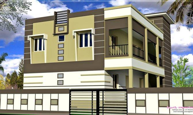 South Indian House Exterior Designs Home Kerala Plans